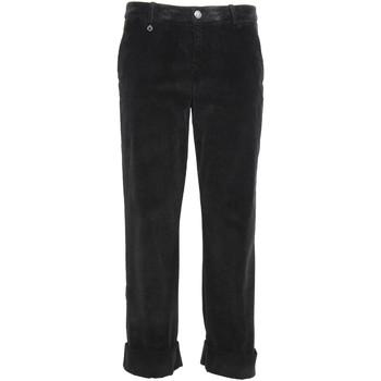 textil Dam Chinos / Carrot jeans NeroGiardini A960730D Svart
