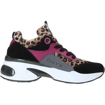 Skor Dam Sneakers Onyx W19-SOX515 Svart