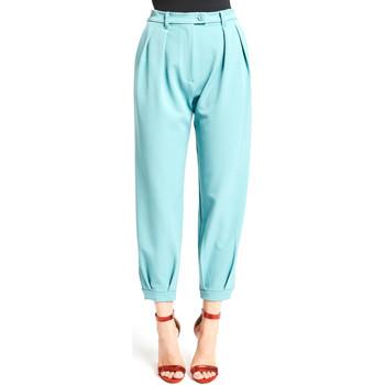 textil Dam Chinos / Carrot jeans Denny Rose 921DD20008 Blå