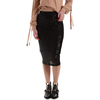 textil Dam Kjolar Denny Rose 921DD70017 Svart