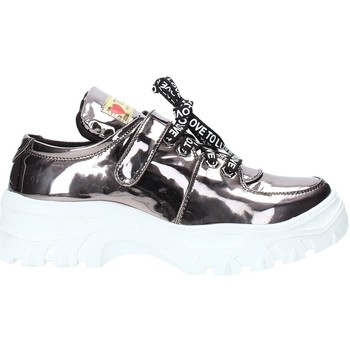 Skor Dam Sneakers Love To Love YYK190 Silver