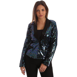 textil Dam Jackor & Kavajer Fracomina FR19FP622 Svart