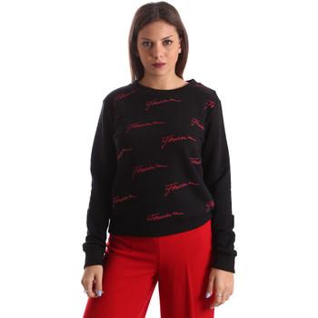 textil Dam Sweatshirts Fracomina FR19FP961 Svart