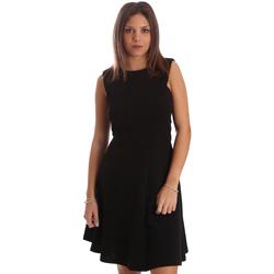 textil Dam Korta klänningar Fracomina FR19FP085 Svart