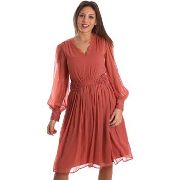 textil Dam Korta klänningar Fracomina FR19FMREMI Rosa