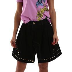 textil Dam Kjolar Versace A9HUB301APD3W899 Svart