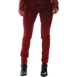 textil Dam Jeans Versace A1HUB0Y0APW48537 Röd