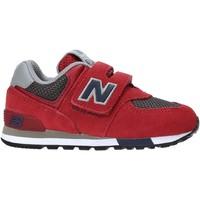 Skor Barn Sneakers New Balance NBIV574FNB Röd