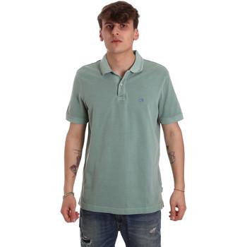 textil Herr Kortärmade pikétröjor Calvin Klein Jeans K10K105193 Grön