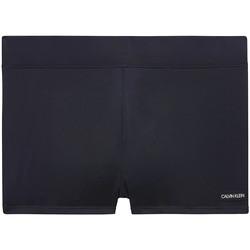 textil Herr Badbyxor och badkläder Calvin Klein Jeans KM0KM00418 Svart
