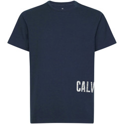 textil Herr T-shirts Calvin Klein Jeans 00GMH9K287 Blå