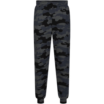 textil Herr Joggingbyxor Calvin Klein Jeans 00GMH9P683 Svart