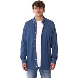 textil Herr Långärmade skjortor Tommy Hilfiger MW0MW12799 Blå