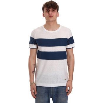 textil Herr T-shirts Gaudi 011BU53023 Beige