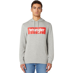 textil Herr Sweatshirts Wrangler W6B9HAX37 Grå