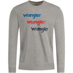 textil Herr Sweatshirts Wrangler W6A5HAX37 Grå