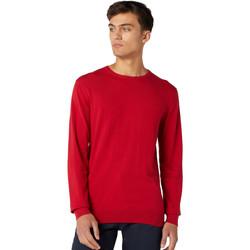 textil Herr Tröjor Wrangler W8A0PDX47 Röd