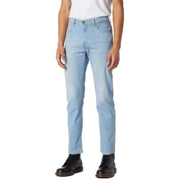 textil Herr Jeans Wrangler W12OQ1159 Blå