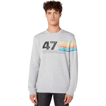 textil Herr Sweatshirts Wrangler W6A5HAX03 Grå