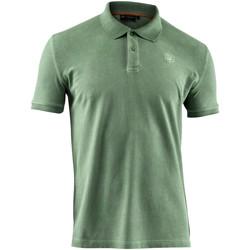 textil Herr Kortärmade pikétröjor Lumberjack CM45940 007 516 Grön