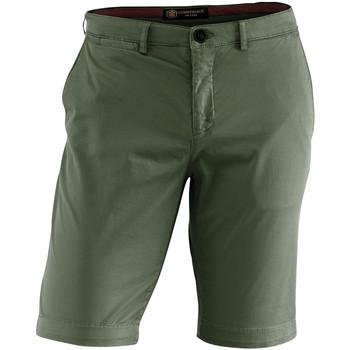 textil Herr Shorts / Bermudas Lumberjack CM80647 002 602 Grön
