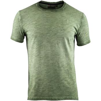 textil Herr T-shirts Lumberjack CM60343 004 517 Grön