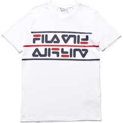 textil Herr T-shirts Fila 687474 Vit