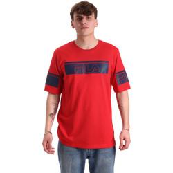 textil Herr T-shirts Fila 683085 Röd