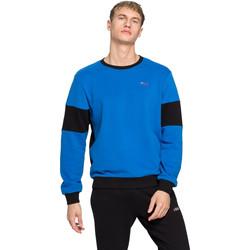 textil Herr Sweatshirts Fila 683087 Blå