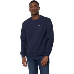 textil Herr Sweatshirts Fila 687457 Blå