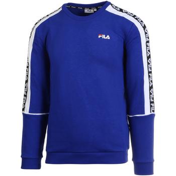 textil Herr Sweatshirts Fila 687698 Blå