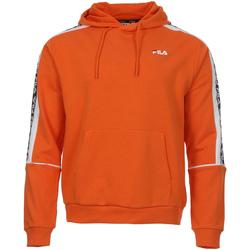 textil Herr Sweatshirts Fila 687708 Orange