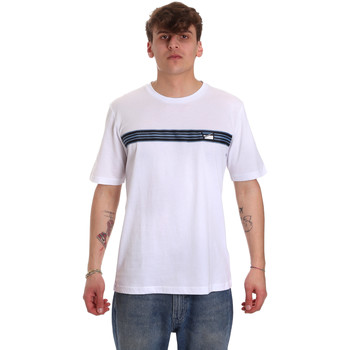 textil Herr T-shirts Antony Morato MMKS01686 FA100144 Vit