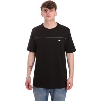 textil Herr T-shirts Antony Morato MMKS01696 FA100144 Svart