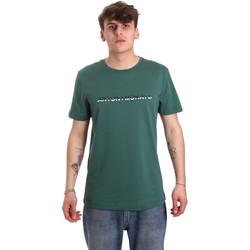 textil Herr T-shirts Antony Morato MMKS01754 FA100144 Grön