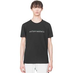textil Herr T-shirts Antony Morato MMKS01754 FA100144 Svart