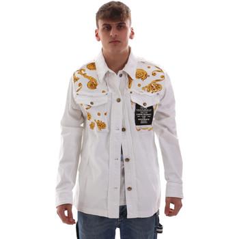 textil Herr Jackor Versace C1GVB92GHRC33003 Vit