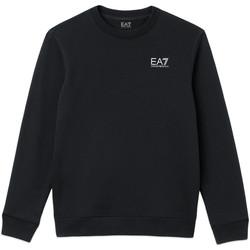 textil Herr Sweatshirts Ea7 Emporio Armani 8NPM52 PJ05Z Blå