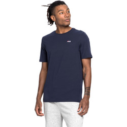 textil Herr T-shirts Fila 682201 Blå