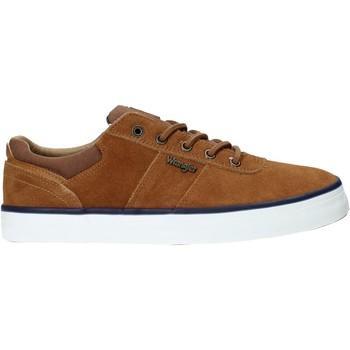 Skor Herr Sneakers Wrangler WM01004A Brun
