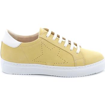 Skor Dam Sneakers Grunland SC4939 Gul