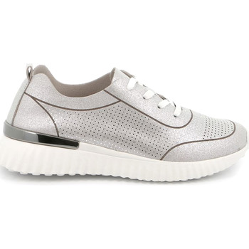 Skor Dam Sneakers Grunland SC4905 Silver