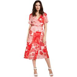 textil Dam Korta klänningar Gaudi 011FD15014 Röd