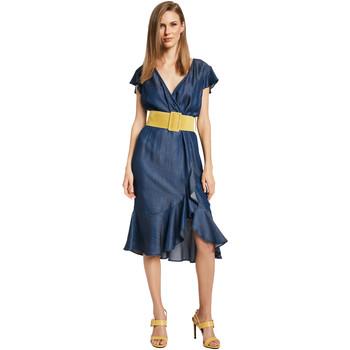 textil Dam Korta klänningar Gaudi 011BD16001 Blå