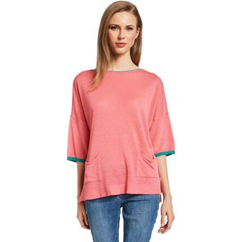 textil Dam Tröjor Gaudi 011BD53033 Rosa
