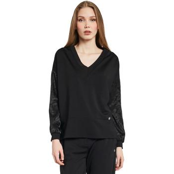 textil Dam Sweatshirts Gaudi 011BD64052 Svart