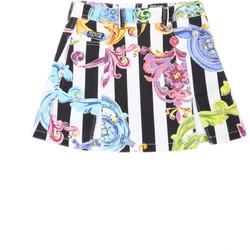 textil Dam Kjolar Versace A9HVB308SN103003 Vit