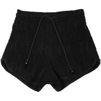 textil Dam Shorts / Bermudas Versace A3HVB18513967899 Svart