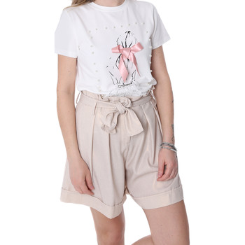 textil Dam Shorts / Bermudas Fracomina FR20SP150 Beige
