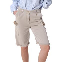 textil Dam Shorts / Bermudas Fracomina FR20SP116 Beige